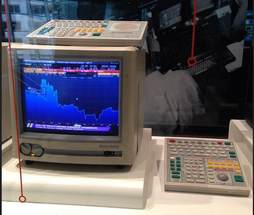 Early Bloomberg Terminal